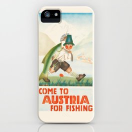 Vintage poster - Austria iPhone Case