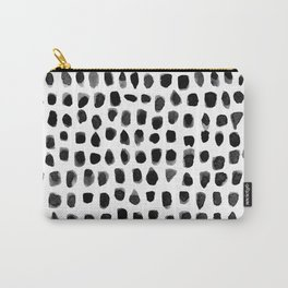 Watercolor Dots Carry-All Pouch