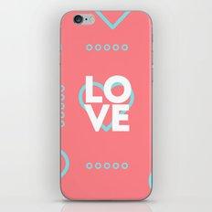 LOVE (HEART) iPhone & iPod Skin