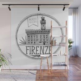 Palazzo Vecchio, Firenze Wall Mural