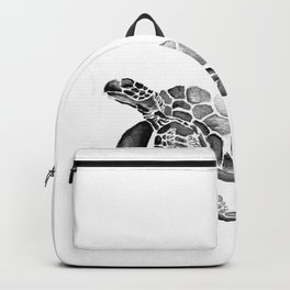 Turtle Rising - Grey Backpack