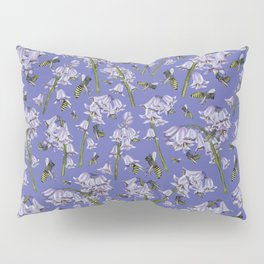 Bluebells and Busy Bees Pillow Sham