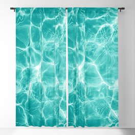 Pool Dream #1 #water #decor #art #society6 Blackout Curtain