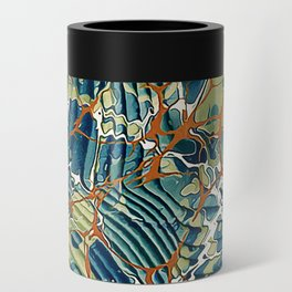 Old Marbled Paper 05 Can Cooler