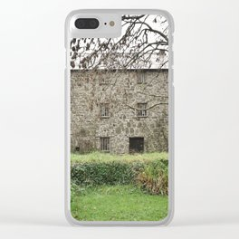 OLD ABANDONED WATERMILL CORNWALL Clear iPhone Case
