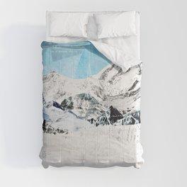 Mountain Landscape Comforters