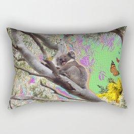 Koalarama! Rectangular Pillow