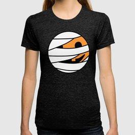 Pumpkin Mummy Face T-shirt