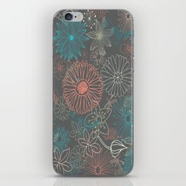 Grey Dreams iPhone Skin