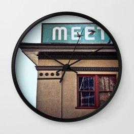 Meet The Producers Wall Clock