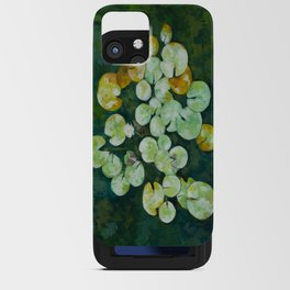 Tranquil lily pond iPhone Card Case