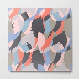 Modern abstract print Metal Print