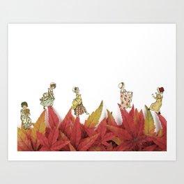 VAMOS A LA CAMA Art Print