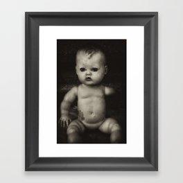 Lonely Portrait Framed Art Print