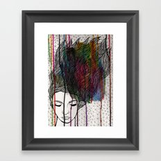 Blood Bank Framed Art Print