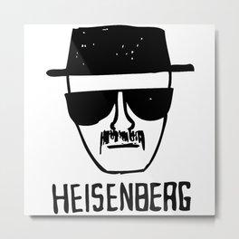 Breaking Bad heisenberg Metal Print