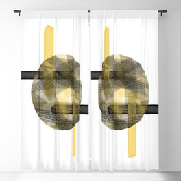 Eclipse #society6 #abstractart Blackout Curtain