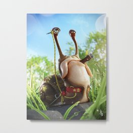 General Shellshock Metal Print