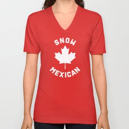 Snow Mexican Unisex V-Neck