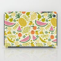 fruit iPad Cases featuring Fruit Mix by Anna Deegan