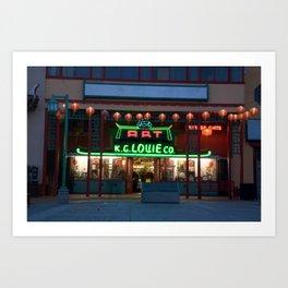 Chinatown_2011052105 Art Print
