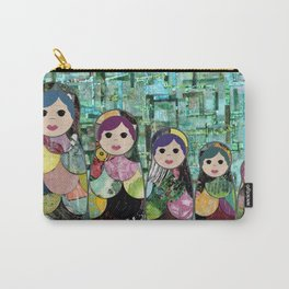 Matryoshka Nesting Dolls Carry-All Pouch