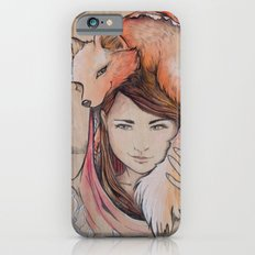 Safe in My Red Riding Hood, Balsa Slim Case iPhone 6s