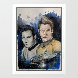 James T. Kirk Art Print