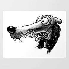 Dugg Art Print
