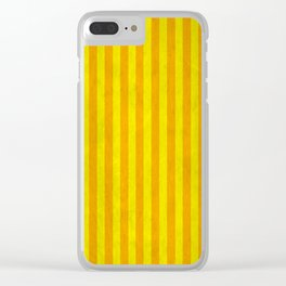 Stripes Collection: The Sun Clear iPhone Case