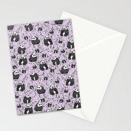 Cute Pandas Stationery Cards
