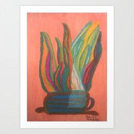 Green Smoothies Art Print