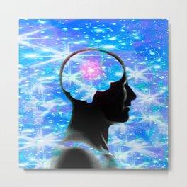 Neuron Dreams Metal Print