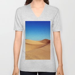 Desert blue Unisex V-Neck