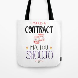 Make a Contract Tote Bag