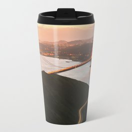 Golden Gate Bridge At Dawn - San Francisco, CA Travel Mug