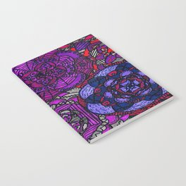 Spooky Flowers Notebook