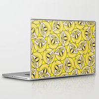 it crowd Laptop & iPad Skins featuring THE CROWD by RUEI