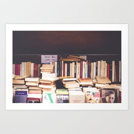 French Books Art Print