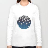 indigo Long Sleeve T-shirts featuring Indigo by Good Sense