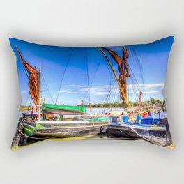 Thames Sailing Barges  Rectangular Pillow