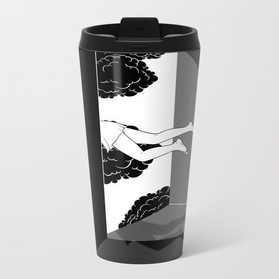 The edge of the world Metal Travel Mug