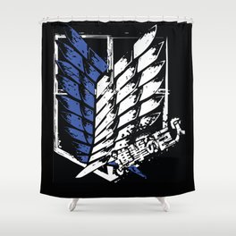 SNK Wings of Liberty Shower Curtain
