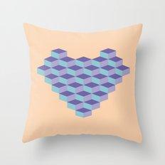 Blocs Throw Pillow