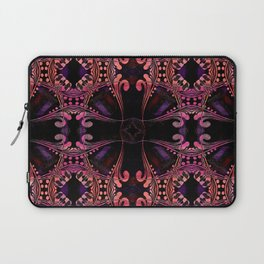 Boujee Boho Medallions in Robust Warm Magenta Laptop Sleeve