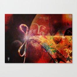 What Lies Beneath? Canvas Print