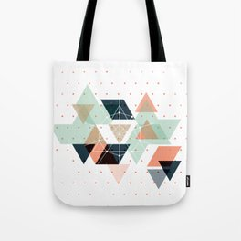 Midcentury geometric abstract nr 011 Tote Bag
