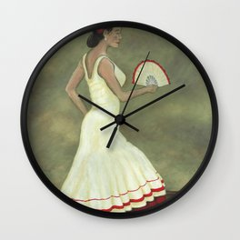 Romani Step Wall Clock