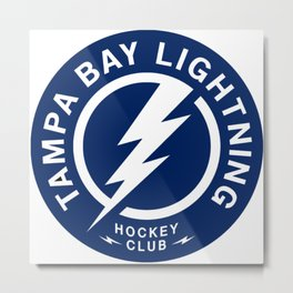 Tampa Bay Logo Print Metal Print