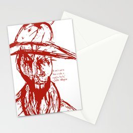 Cowboy Creed Stationery Cards